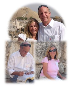 Cheryl & Rich at Bet Shean and Capernaum