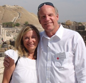 Cheryl and Rich at Bet Shean