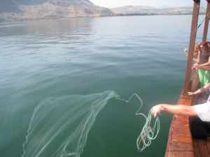 Fishing On The Sea Of Galilee