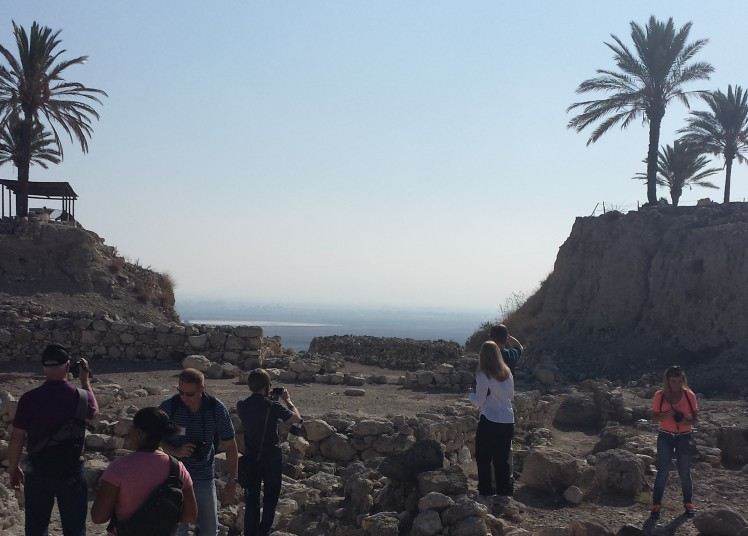 Megiddo and Valley of Armageddon Beyond