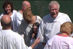 Baptism in The Jordan River