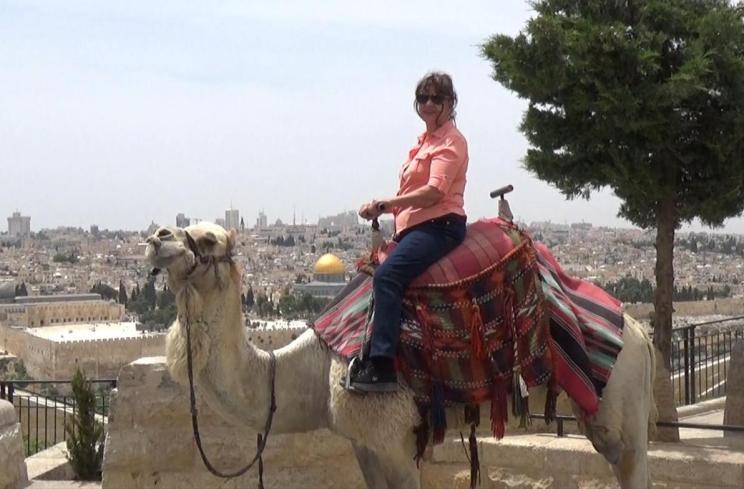 Irene On Her Camel