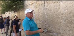 Curt at the Western Wall