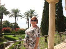 Shelley at Mount of Beatitudes