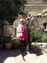Gloria at the Garden Tomb
