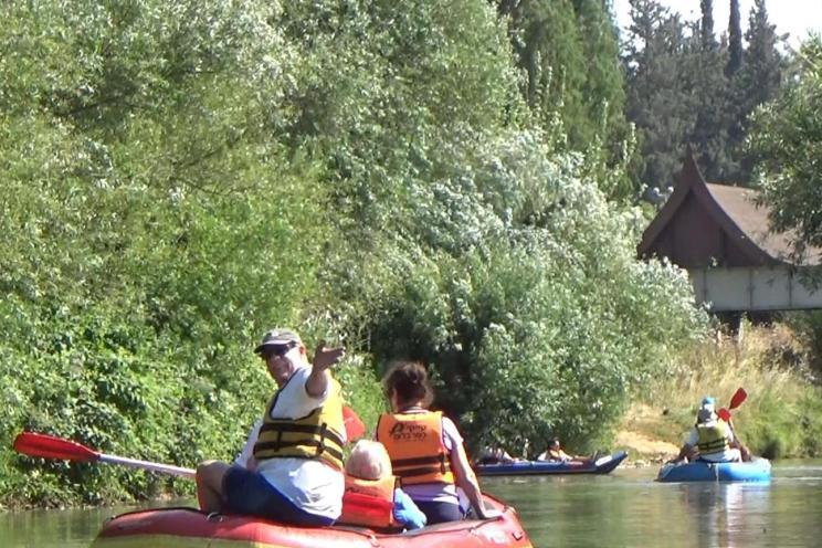 Rafting on the Jordan River