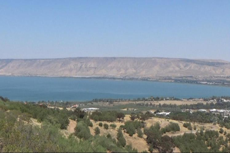 Sea of Galilee and Golan Heights