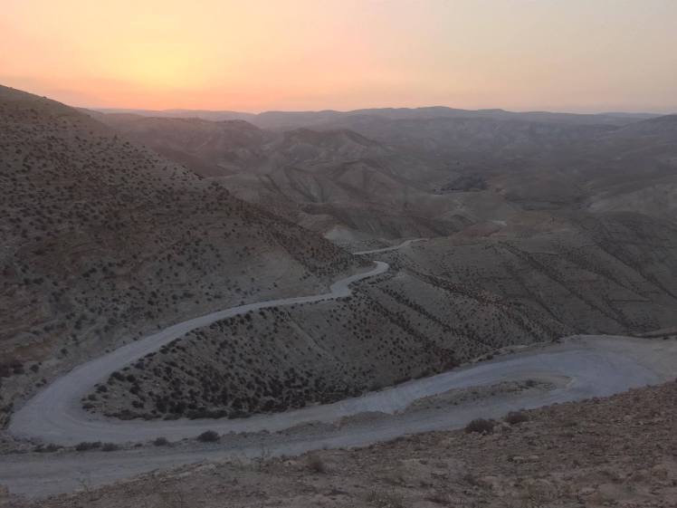 Wadi Qelt in the Judean Desert