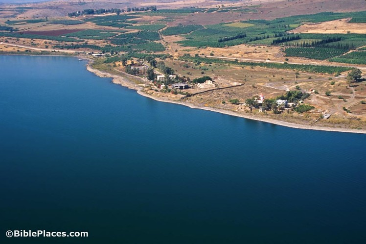 capernaum-area-aerial-from-southeast-tbs115190011-hr-bibleplaces