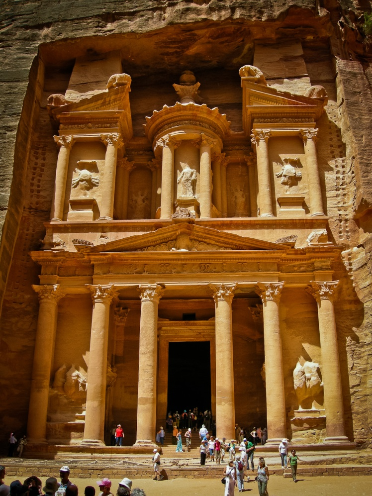 Petra Treasury Ruin