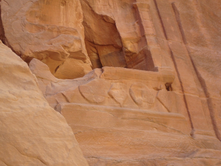 Eroded Carvings of Petra