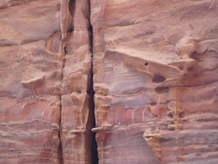 Colors of Sandstone in Petra