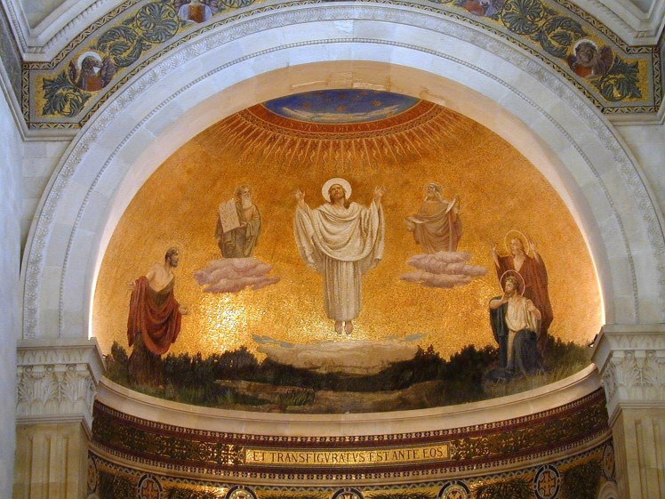 Mount Tabor Basilica of Transfiguration mural, tb040200100