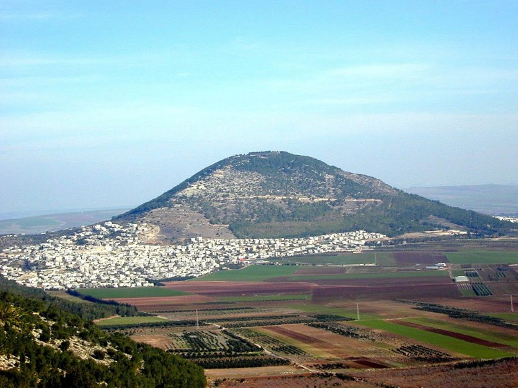 Mount Tabor from Nazareth ridge, tb011400115