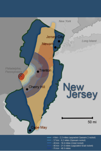 Size of Israel and New jersey