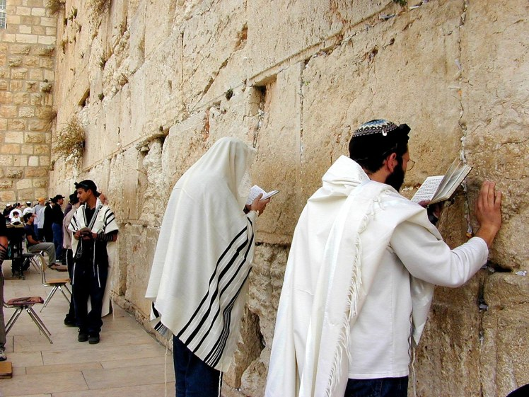 Men praying at Western Wall, tb010200212