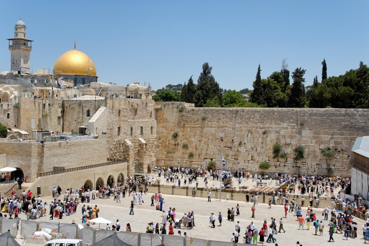 Western Wall prayer plaza, tb071207104