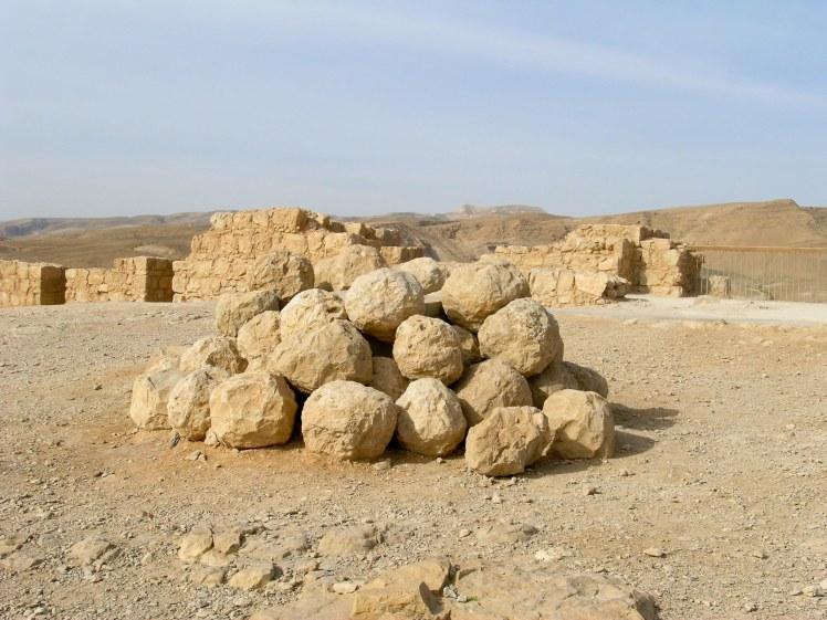 Masada catapult balls, tb022904747