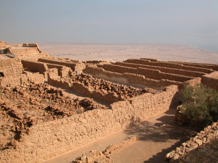 Masada storehouses from south, tb111002258