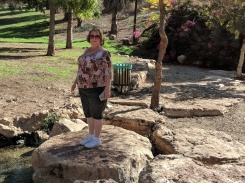 Shelley at Gideons Spring
