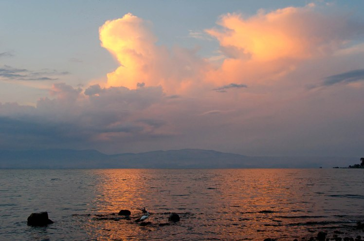 Clouds over Sea of Galilee, tb102904607
