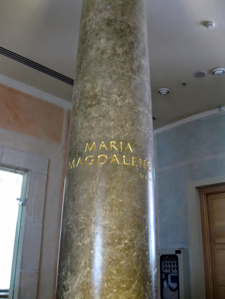 mary magdalene pillar